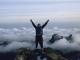 Top of Mount Kenya