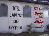 Graffiti on a Wall in Tehran