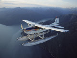 A Seaplane Takes a Sightseeing Tour over Misty Fjord