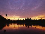 Angkor Wat Temple at Twilight