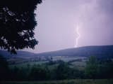 Lightning Strikes over Pleasant Valley