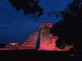 Night View of El Castillo