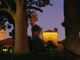 Twilight View of Buildings on the Stanford University Campus