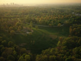 Aerial Over the Cherokee and Iroquois Parks