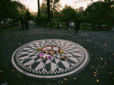 The Imagine Mosaic  a Memorial to John Lennon in Strawberry Fields