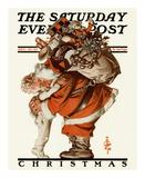 Hug from Santa  c1925