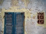 Weathered House with Shutters at Bastoni Marco Polo  Alghero  Sardinia  Italy