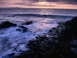 Giants Causeway Ancient Rock Formation  Antrim  Northern Ireland
