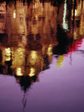 Building Reflection in Canal  Amsterdam  North Holland  Netherlands