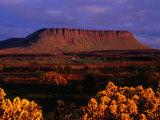 Benbulbin Mountain  County Sligo  Ireland