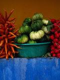 Roadside Vegetable Stall Near Los Encuentros Solola  Guatemala