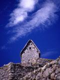 Stone House at Machu Picchu  Machu Picchu  Cuzco  Peru