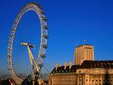 London Eye Ferris Wheel  London  England