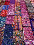 Display of Textiles  Antigua Guatemala  Guatemala