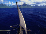 Mainstay of Tallship  Bora Bora  the French Polynesia