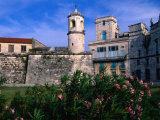 The Old Walled Fortress City of Old Havana  Havana  Cuba