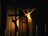 Jesus on the Cross Inside Santissima Annunziata Del Vastato  Genova  Liguria  Italy