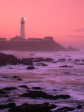 Sunrise Over Pigeon Point Lighthouse of San Mateo County  San Francisco  California  USA