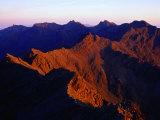 Black Cullin Mountain Range  Isle of Skye  Scotland
