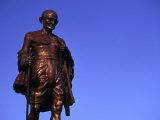 Bronze Statue of Mohandas Karamchand (Mahatma) Gandhi  Mumbai  Maharashtra  India