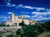 The Alcazar  Segovia  Castilla-Y Leon  Spain
