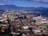 Cityscape of Guatemala's Second Largest City  Quetzaltenango  Guatemala