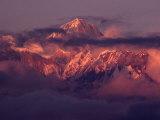 Annapurna 11 at Sunset  Gandaki  Nepal