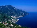 Coastline South of Ravello  Ravello  Campania  Italy