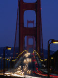 Golden Gate Bridge at Night  San Francisco  California  USA