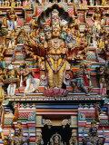 Highly Decorated Sri Lankan Hindu Temple or Kovils  Colombo  Western  Sri Lanka