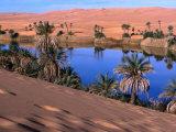 Umm Al-Miah- One of the Oasis Pools Part of the Dawada Lakes  Awbari  Libya