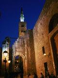 Umayyad Mosque at Night  Damascus  Syria