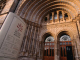 The Entrance to the Natural History Museum - London  England