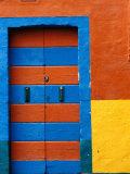 Colourful Door  Venice  Burano  Veneto  Italy