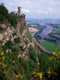 Countryside on Kinnoull Hill  Perth  United Kingdom