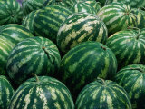 Watermelon for Sale  Trapani Market  Trapani  Sicily  Italy