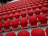 Seats Inside Soccer Stadium San Siro of Internazionale Milano and Ac Milano  Milan  Italy