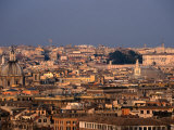 Centro Storico from Gianicola  Rome  Italy