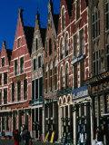 Guild Houses on Markt  Bruges  Belgium