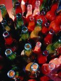 Bottles of Fresh Tomato Sauce  Malfa  Sicily  Italy