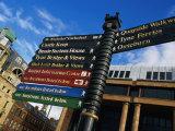 Quayside Sign  Newcastle-Upon-Tyne  Newcastle-Upon-Tyne  England