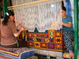 Women Making Carpets  Cappadocia  Turkey
