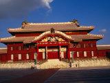 Replica of Shuri Castle in Shuri  Japan