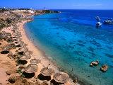 Blue Waters and Coral Reefs of Ras Um Sid  Sharm El-Sheikh  Egypt