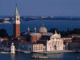 Island Tower and Buildings  San Giorgio Maggiore  Veneto  Italy