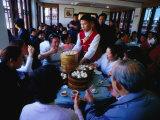 Inside Nanxiang Steamed Bun Restaurant  Shanghai  China