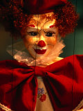 Clown-Faced Marionette in a Shop  Athens  Attica  Greece