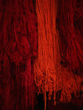Dyed Wool at Souq  Marrakesh  Morocco