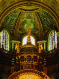 The Apse of St Paul's Cathedral with Mosaic Ceiling  London  England