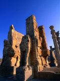 Gateway of All Nations Built by Xerxes I (485-465 BC) Persepolis (Takht-E Jamshid)  Fars  Iran
